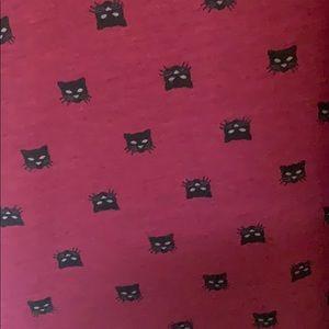RARE LulaRoe Classic Tee Black Cats
